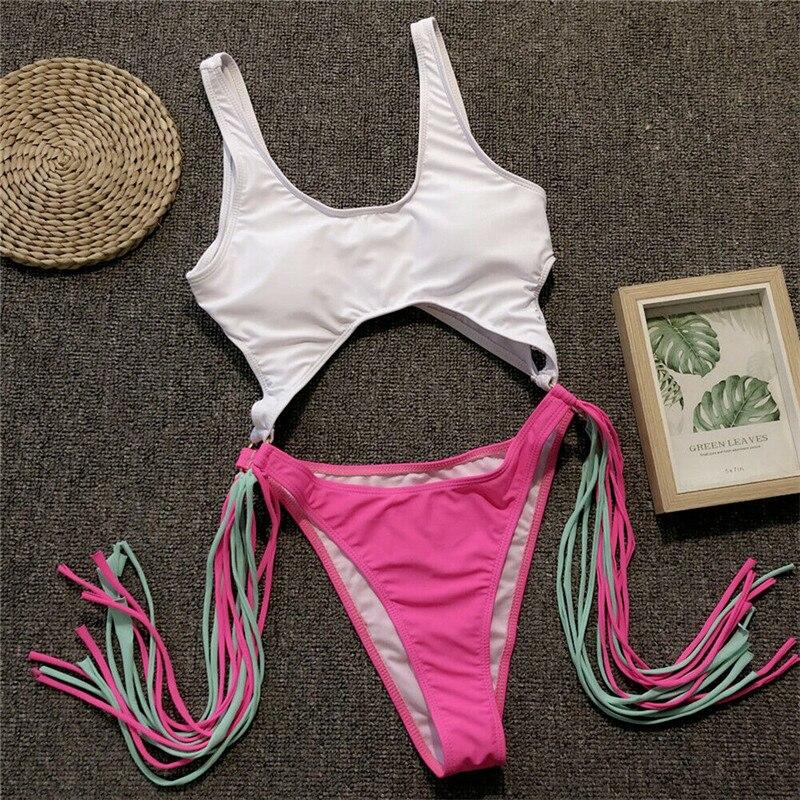Leopard Print Bikini Set Womens Beach Push-Up Padded Bra Swimsuit Bathing Suits