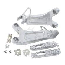 Rear Left&Righ Passenger Footrest Foot pegs Set For Honda CBR 600RR 600 RR 2003-2004 Motorcycle