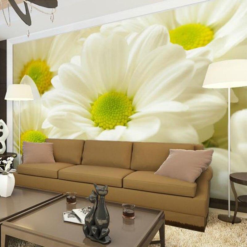 Настенная 3D Бумага с простыми цветами, современный уютный дизайн для гостиной, спальни, столовой, интерьера, декор для стен