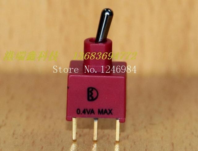 [SA]NE8011 doble chapado en oro pins seis pies dos tramos M6.2 pequeño interruptor de palanca 1AD1 Deli Wei impermeable Q11-50 unids/lote