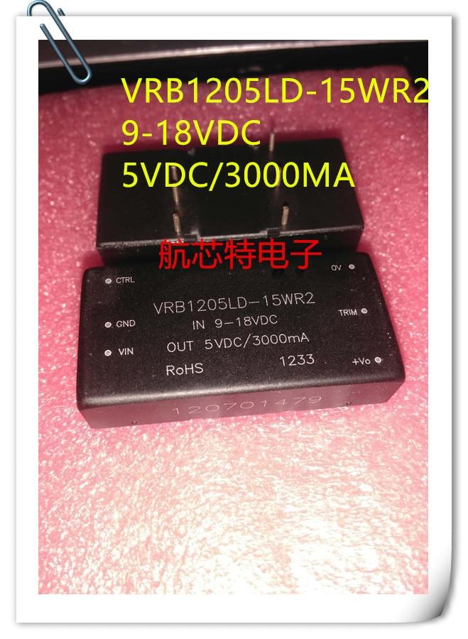 NEW 1PCS/LOT DC/DC power supply module VRB1205LD-15WR2 input 9-18V single output 5V 3A