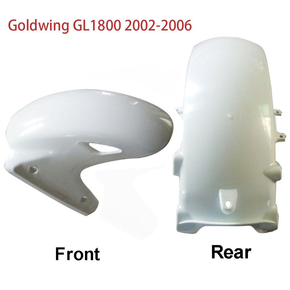 إطار العجلة الأمامية الخلفية للسيارة هوندا 1800 GL Goldwing GL1800 2002 - 2006 2005 2004 2003 02-06 غطاء حماية من الطين من البلاستيك ABS للجناح الذهبي