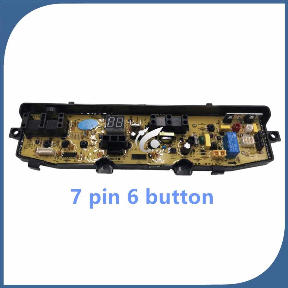 Novo original para placa do computador máquina de lavar roupa DC92-00297A wa88v95v3 DC92-00278 7 pinos 6 botão