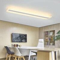 Modern Led Ceiling Lamp Rectangular Strip Lamp Bedroom Porch Dining Room Kitchen Living Room Aisle Corridor Office Ceiling Light