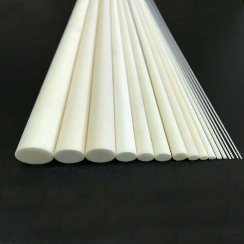 100mm Long 0.5/0.7/0.8/1/1.3/1.5/2/3mm-8mm OD Alumina Ceramic rods stirring bar insulate stick High Temperature resistant baton