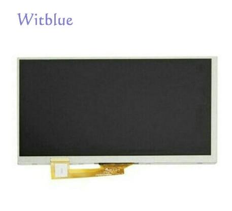 "Witblue nueva matriz de pantalla LCD para 7 ""Prestigio Wize 3327 3G PMT3327_3G_C PMT3327C módulo de reemplazo de Panel de Pantalla LCD interna"