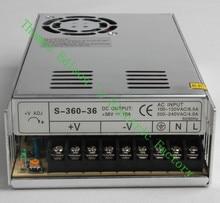 DIANQI fuente de alimentación de alta calidad 36V 360W CA a Fuente de alimentación de CC convertidor de CA CC S-360-36