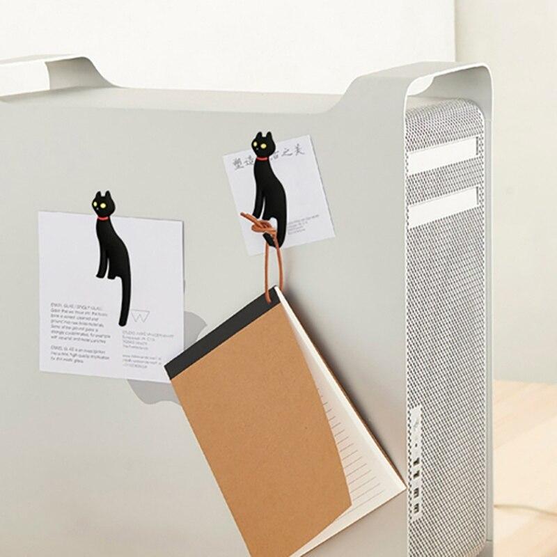 1 Uds imán creativo para el refrigerador pegatinas de decoración para refrigerador con cola de gato accesorios magnéticos para el hogar