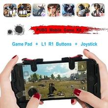 Manette de jeu Mobile Grip L1R1 manette pour iPhone téléphone Android 4 en 1 feu libre L1 R1 déclenche PUGB manette de jeu Mobile PUBG