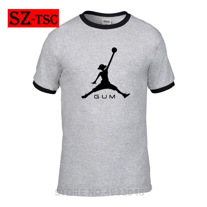 New Anime Style Cotton 3D Air Luffy GUM T-Shirt Toutes les Tailles Cartoon t shirt men Unisex New Fashion Casual Couple T Shirt