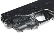 Tactical Laser Sight für Glock 19 23 22 17 21 37 31 20 34 Glock red dot Pointer Nuten Tactical Jagd Red Dot Laser Sight 5 mw