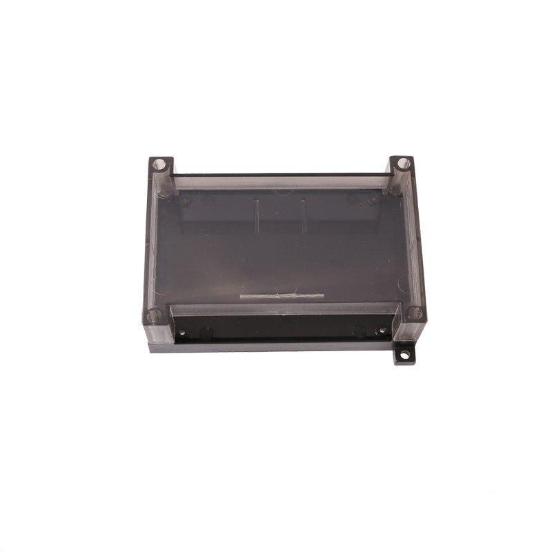 Caja de Control Industrial/carcasa de placa amplificadora/carcasa PLC/carcasa de alimentación/carcasa transparente de plástico 125*90*40mm