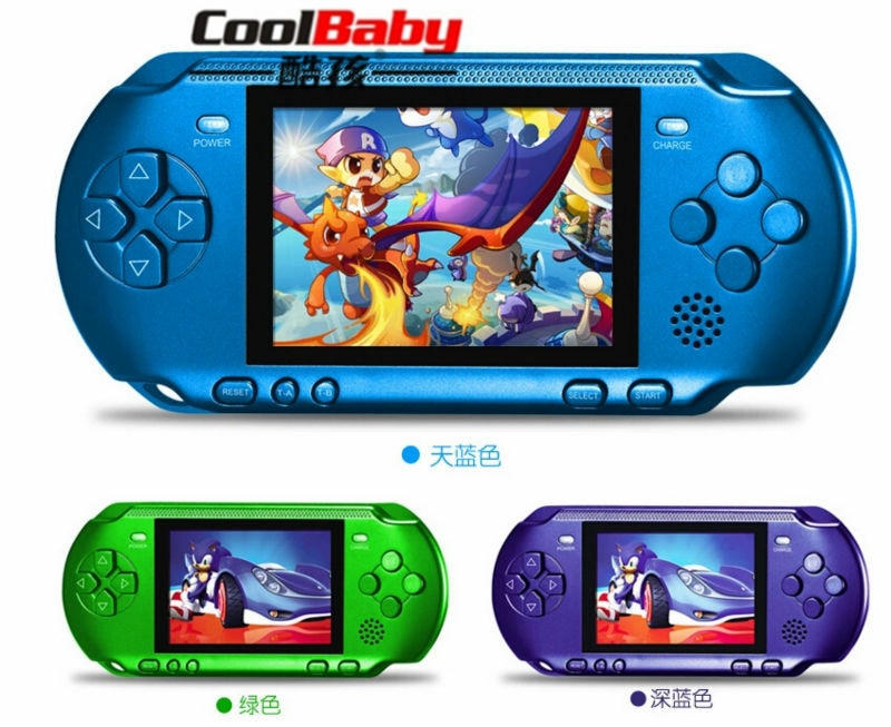 3.2inch Colorful Screen Children Classic Handheld Digital Screen Video Game Console For Kids