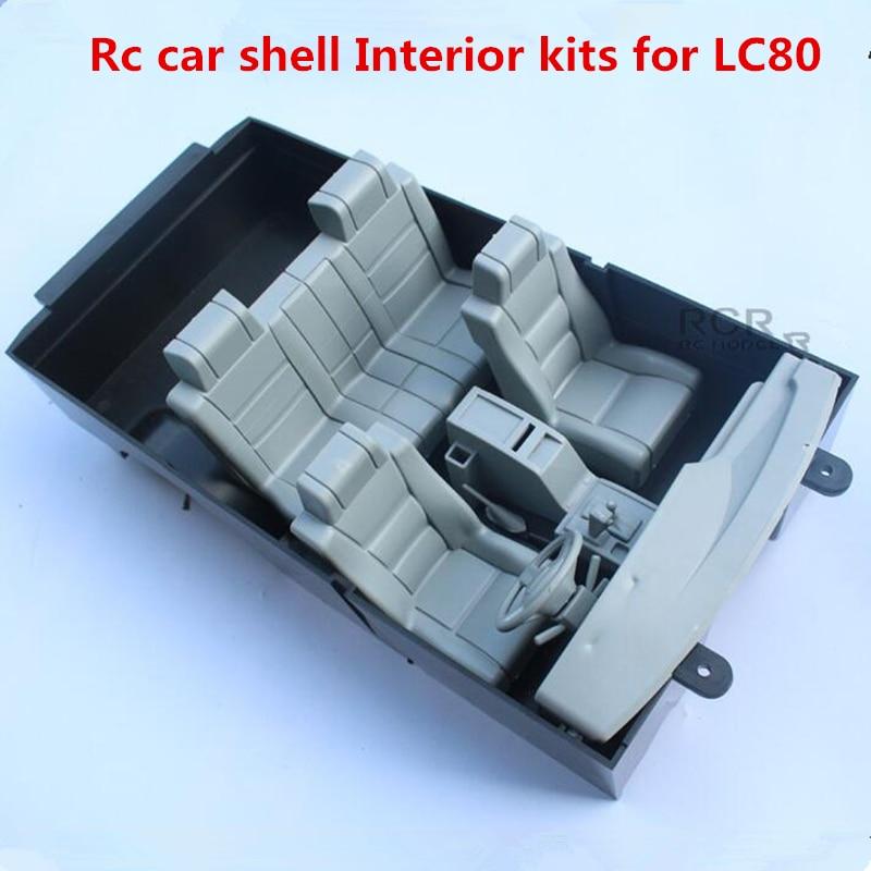 Запасные части для автомобилей с дистанционным управлением, внутренние наборы корпусов для автомобилей в сборе для 1/10 радиоуправляемого г...