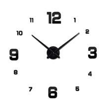 Autocollants de montre en Quartz   Horloge murale, miroir acrylique 3d, décoration de maison, balcon/cour, aiguille, europe, diy nouveau, offre spéciale
