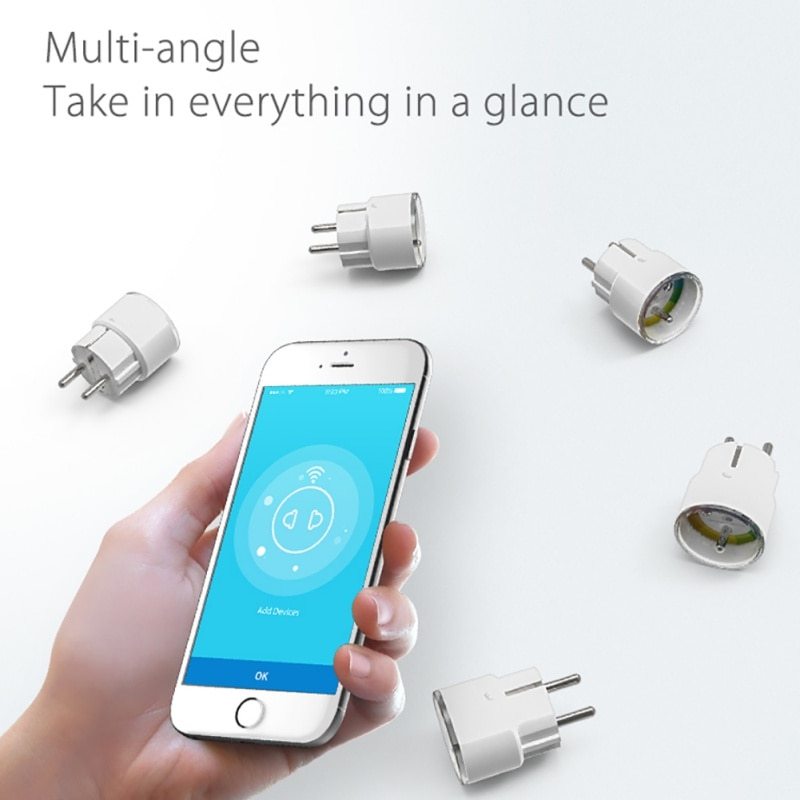 IFTTT NEO FR França Inteligente Plugue Wi-fi Tomada Inteligente de Controle Remoto Interruptor WiFi Mini Alexa Tomada Temporizador Para Amazon inicial do Google