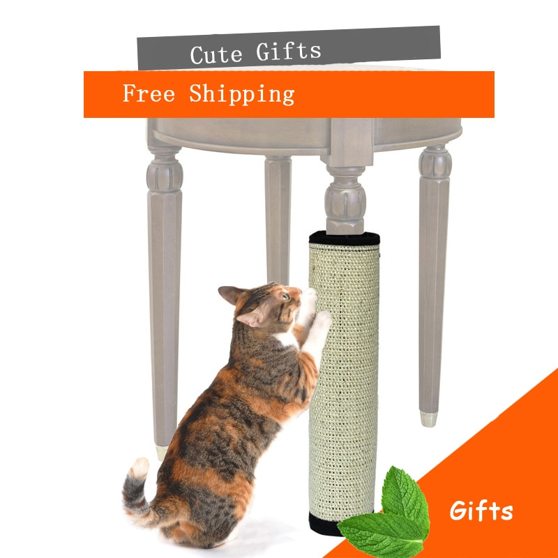 cat scratching post Natural sisal Mat toy for cats catnip tower climbing tree Cat Scratch Pad board Protecting furniture Foot cat tree with sisal scratching post 95 cm