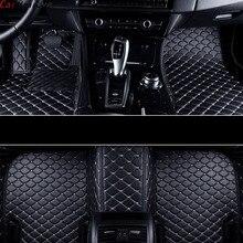 Tapis de sol de voiture Volkswagen polo berline   Pour voiture, touran 2007 golf 4 5 6 passat b5 b6 b7 Tiguan, accessoires tapis