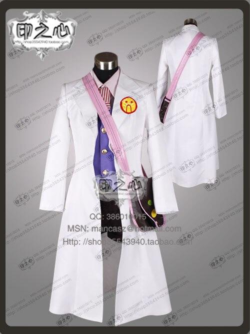 phoenix Wright 4 Ace Attorney Akane Houzuki Ema Skye Clothing Gyakuten Saiban Cosplay Costume with bag 11
