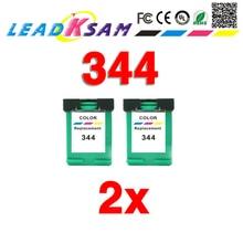 Cartucho de tinta 344 compatible con hp344 para impresora officejet 7210 7313 7410 Photosmart 2710 8450