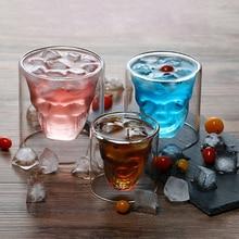 Verre à whisky Double couche Transparent   Verre à whisky, verre à bière de haute capacité, verre à vin, verre de Bar, verrerie dhôtel