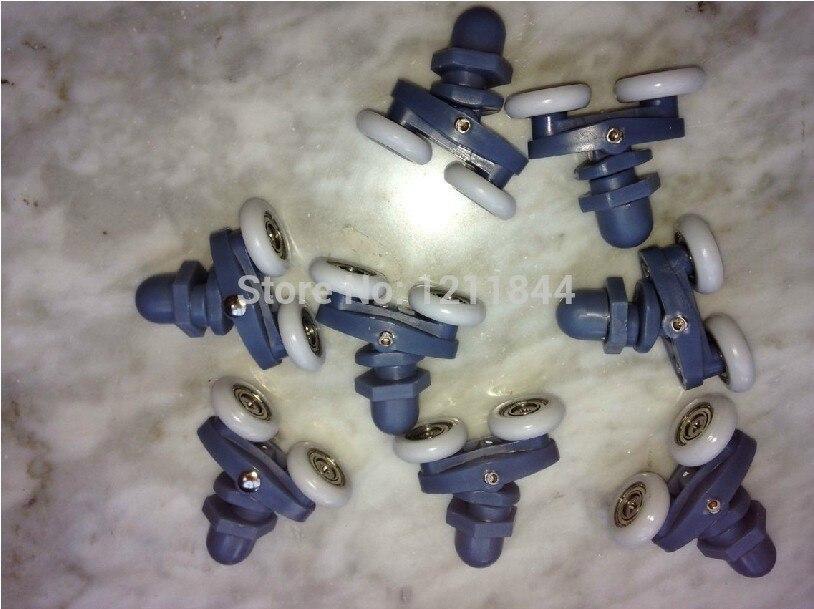 Glass shower door roller pulley wheel arc bathroom shower room pulley diameter 22MM