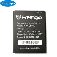 3.8V 100% New PSP7501 DUO Replacement Battery For Prestigio Grace R7 PSP7501 DUO Bateria Batterie Baterij Mobile Phone Batteries
