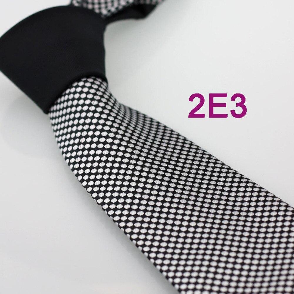 YIBEI Coachella Ties Prata Nó Contraste Preto Polka Dots Microfibra Gravata Laço Formal Do Pescoço Gravata dos homens Adultos 8.5 cm Corbatas 2E3
