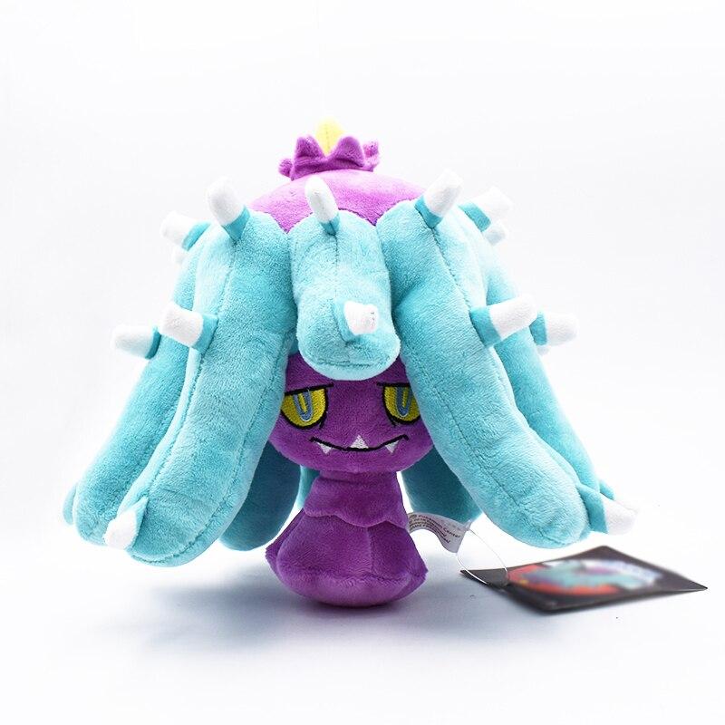 """Бесплатная доставка, Mareanie Peluche фиолетовый 8 """"20 см плюшевая анимэ кукла мультяшная мягкая детская лучшие подарочные мягкие игрушки"""