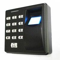 125 KHZ/13.56 Mhz טביעות אצבע/סיסמא/תעודת זהות דלת בקרת גישה מערכת
