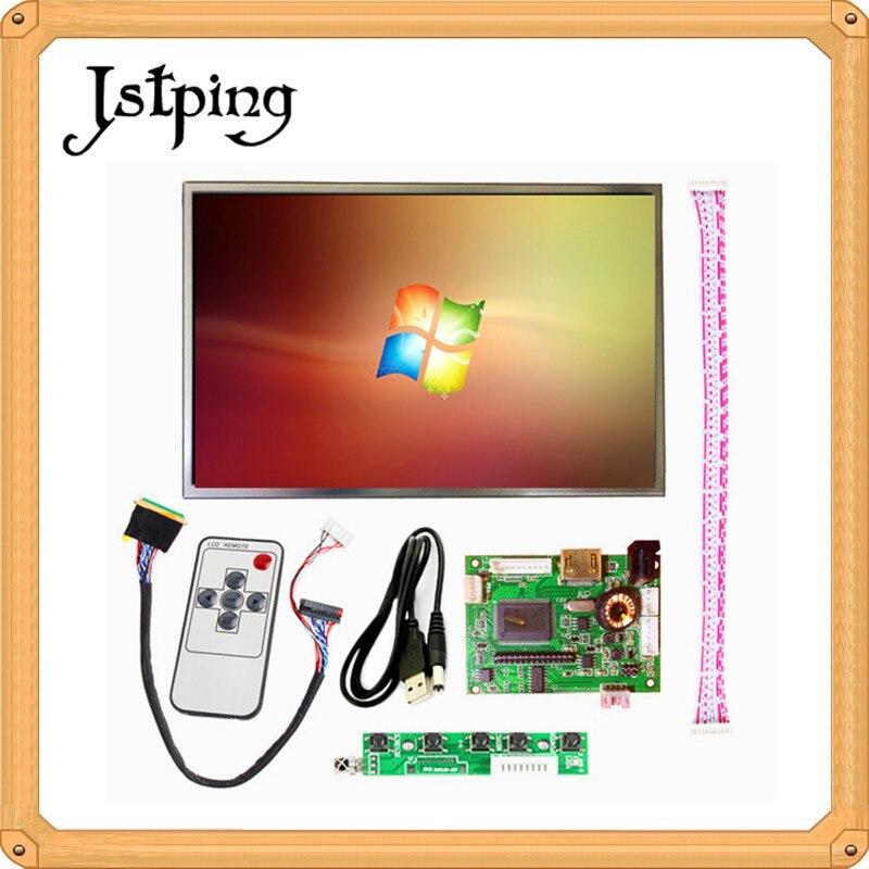 Controlador de pantalla LCD Jstping 1280*800, controlador de placa de Monitor, mini entrada de Audio Ultra pequeña HDMI, pantalla LCD para Raspberry pi 3