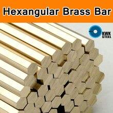 Ottone Hexangular Asta Bar Grado di ASTM C28000 CuZn40 CZ109 C2800 H59 H62 Bar Albero Bastone Cu Materiale DIY CNC Mould Sei angolo
