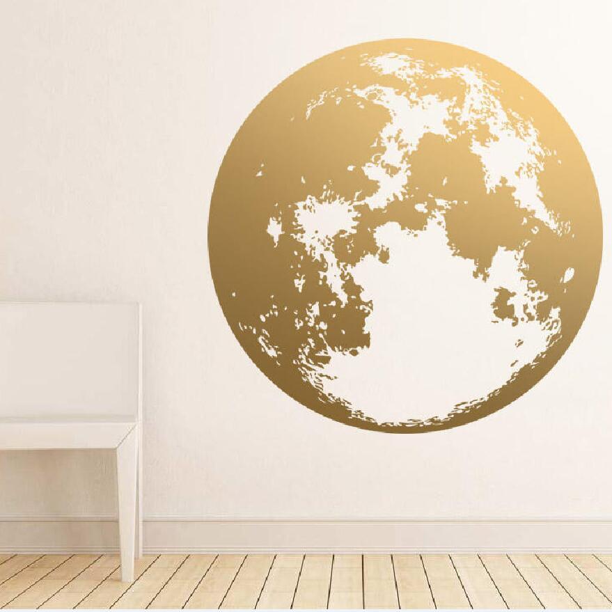 YOYOYU-autocollant de terre pour décor de maison   Autocollant de Globe, décoration de planète murale, pour salle de séjour chambre à coucher, bricolage, ensemble pour bricolage