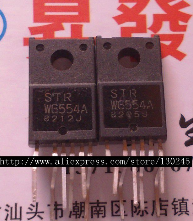 1 шт./лот STRW6554A STR-W6554A STRW6554 W6554 TO-220F в наличии