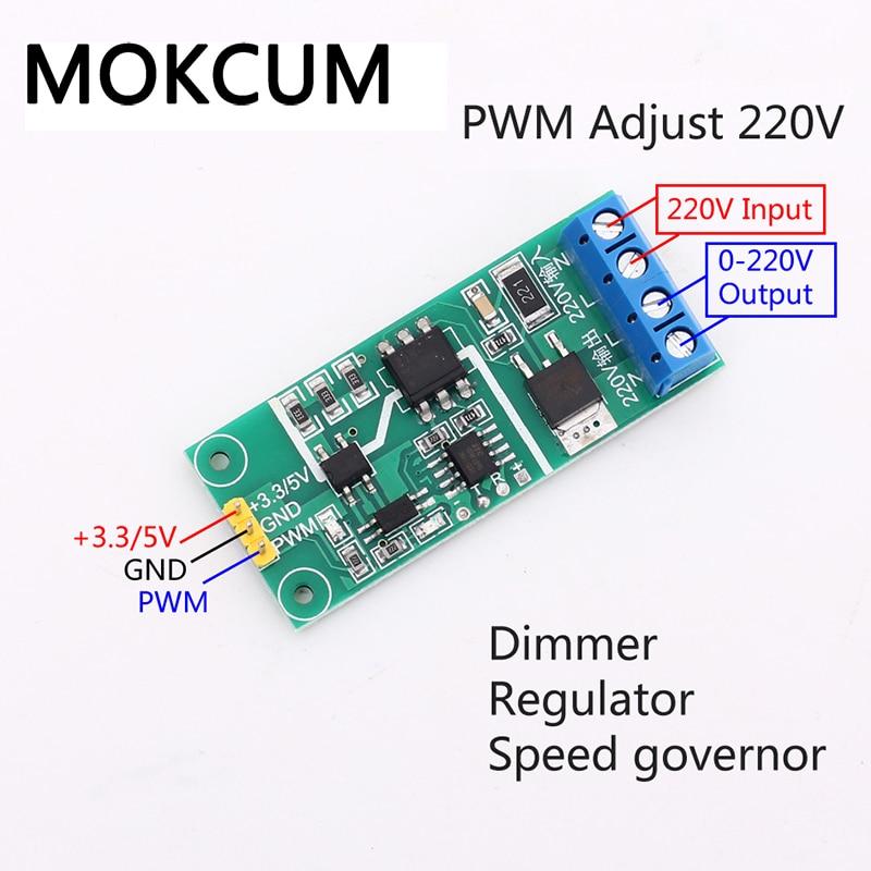 modulo de isolamento do tiristor do controlador pwm 220v pwm regulador escurecimento