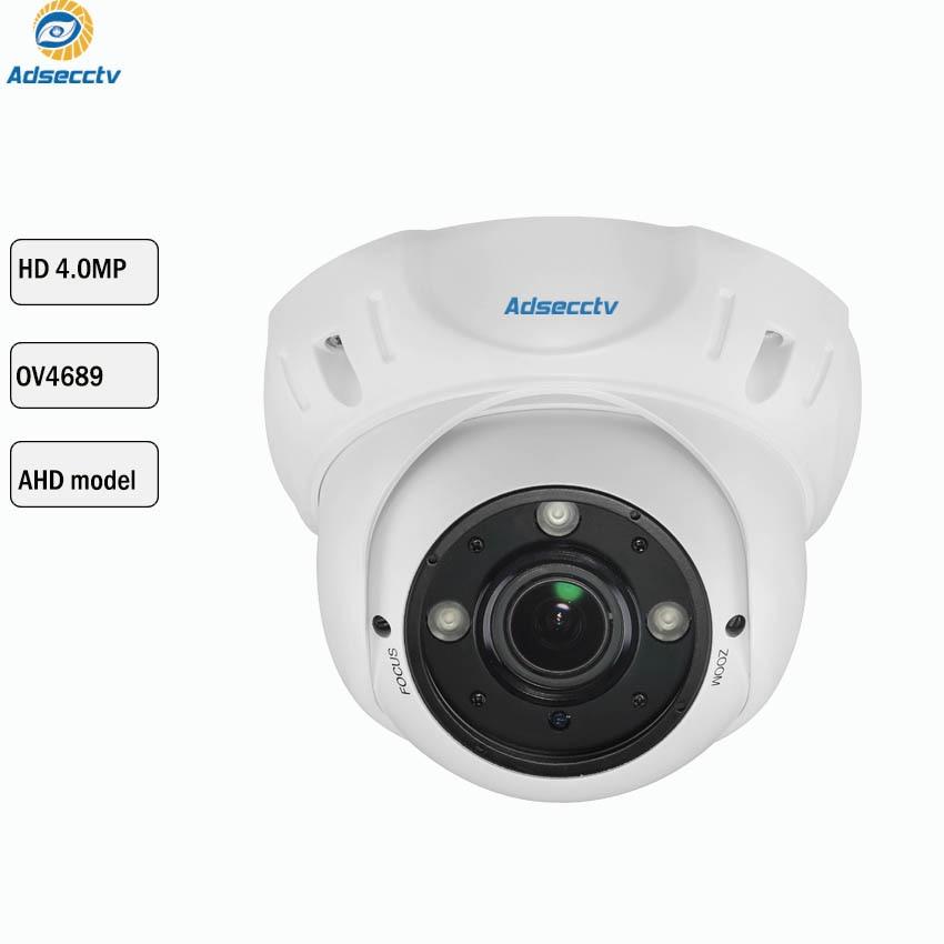 4MP AHD 1/3 OV4689 Sensor AHD Kamera Sicherheit Überwachung Kamera 3PCS Array Nachtsicht CCTV Metall Dome Kamera AR-AHD2304H4