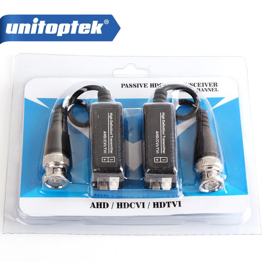 5 пар высокой четкости 720 P/1080 P AHD HDCVI HDTVI BNC в UTP Cat5/5e/6 видео Balun Пассивный адаптер трансивера передатчик 300 м