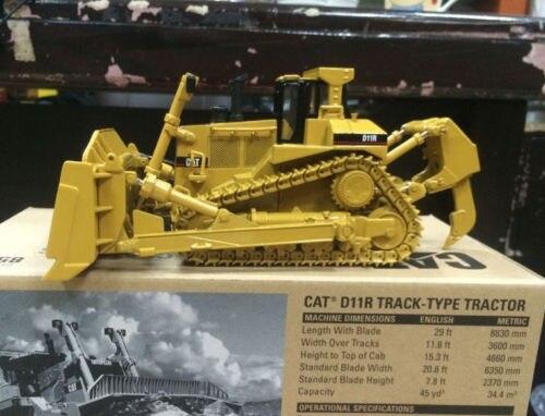 جديد Caterpillar Cat D11R Track-Type Tracktor 1/50 DieCast 85025 بواسطة DM Model