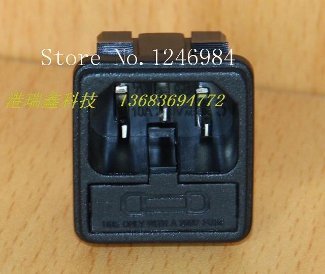 [SA] enchufe de conector de tarjeta combo triángulo negro con JR-101-1FS--100PCS de seguro/lote