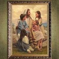 Impression HAUTE DEFINITION Jesus Nous Sauver Peinture sur toile art impression decor a la maison mur art photo salon decor peinture