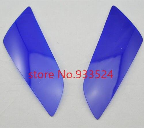 Azul cubierta de faro para Honda CBR 600RR 2003-2006 CBR1000RR 2004-2007
