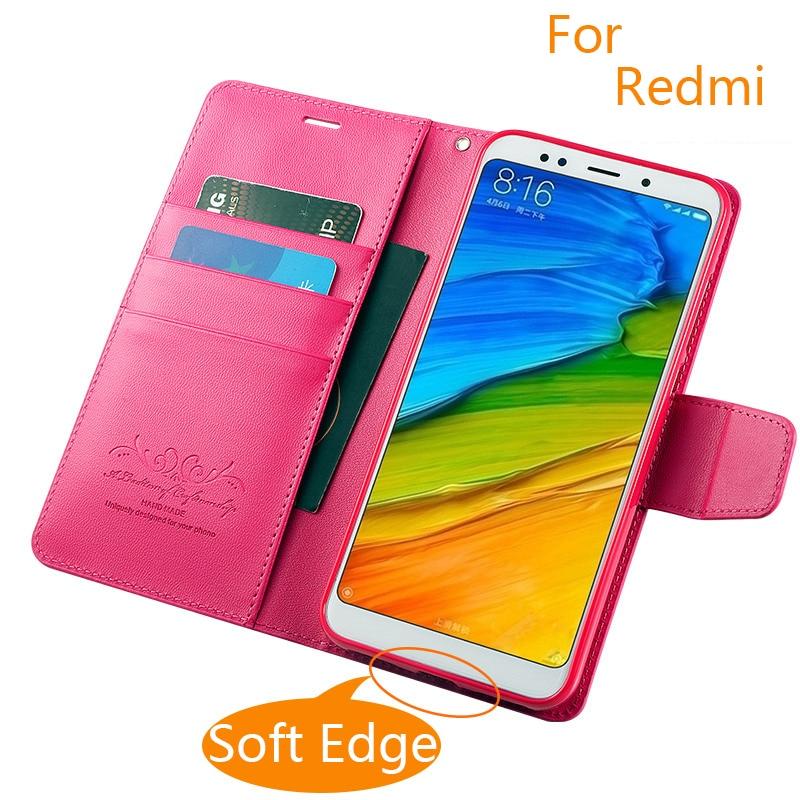 Цветной чехол ручной работы для Xiaomi Redmi note 5 4x 5a redmi 3s 4 pro 4a 5a, кожаный чехол для Redmi 5 Plus, модный флип-чехол из искусственной кожи