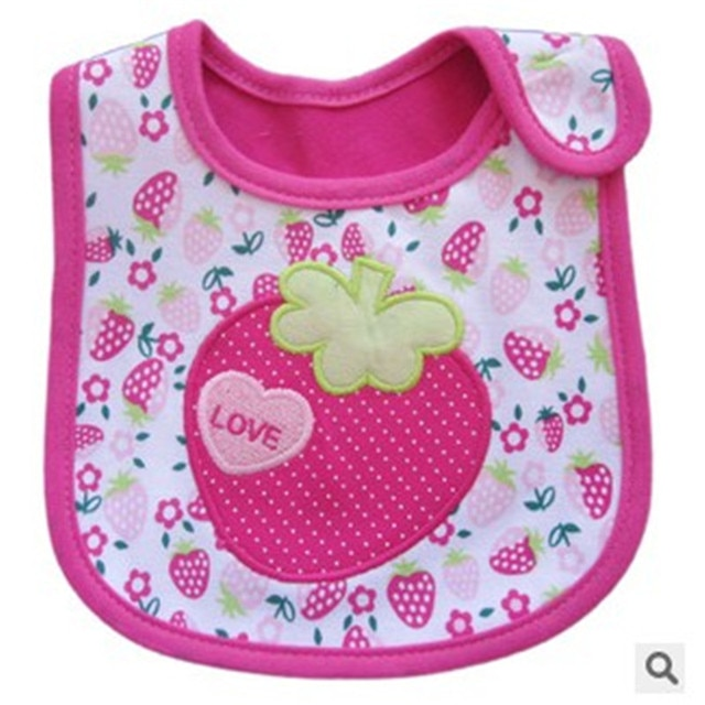 1PCS Newborn Baby Bibs Waterproof  Bib Bandana Baberos Bibs For Kids  Girls Boys Bib Baby Clothing 4