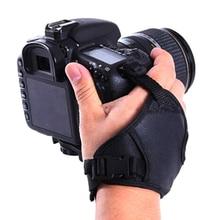 1Pc Hand Grip กล้อง PU หนังสายคล้องมือสำหรับกล้องถ่ายรูปอุปกรณ์เสริมสำหรับ DSLR