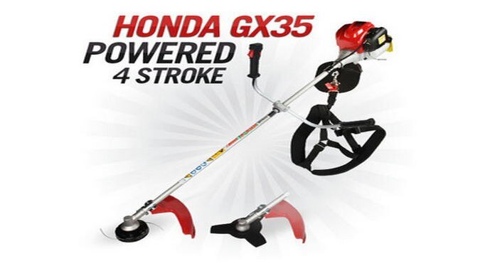 Lawn Mower tool Gx35 2 in 1 Brush cutter with Gx35 Engine cutter Whipper Snipper Trimmer Line long pole Tree Pruner
