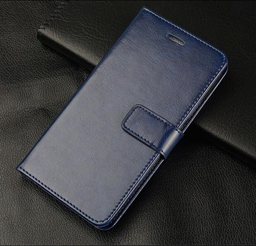 Para Huawei P9 Lite Mini Huawei Nova Lite 2017 cuero Premium cartera Flip caso de Huawei Y6 Pro 2017 SLA-L02 SLA-L22 SLA-TL00