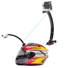 Motorrad Helm Mount Kit Curved Adhesive Basis Schraube Kamera Zubehör Für Gopro 4 3 SJ4000 YS-BUY