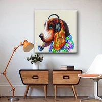 professional aritist 100 hand painted animal oil paintings on canvas cartoon animal oil paintings for kids room wall picture