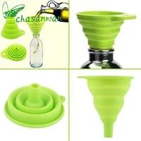 1 pcs kitchen accessories gadget folding funnel telescopic long neck for kitchen oil leakage vegetable juice kitchen gadgets b