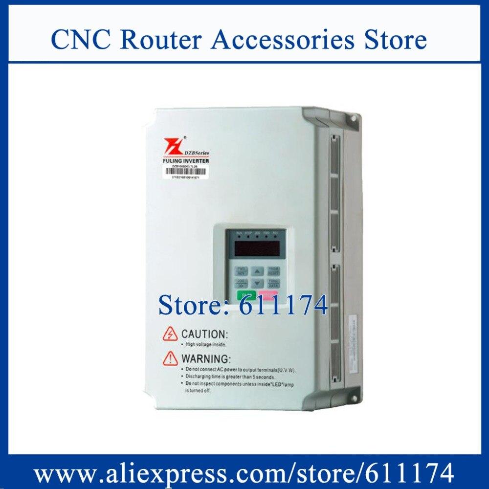 Fuling Frequency VFD Inverter 3.7KW AC380V 0-200HZ DZB300B0037L4A  VFD Frequency Inverter